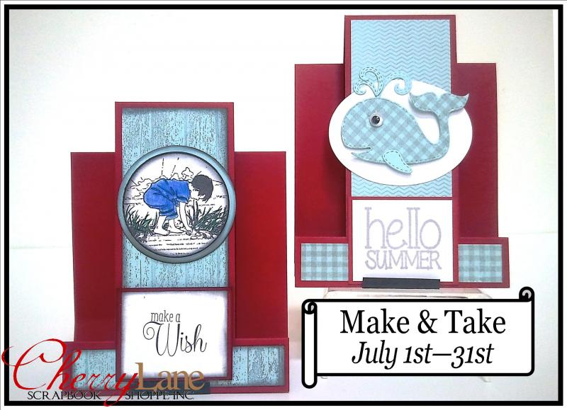 July 1-31, 2016 Impression Obsession stamps & dies